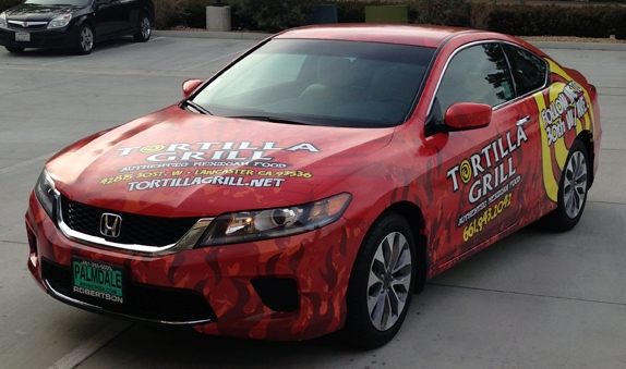 Vehicle Wraps in Lancaster, CA