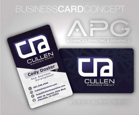 Our work business card design in lancaster ca reheart Choice Image